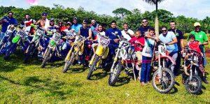 Mejores pilotos invitacionalde motocros en Higüey