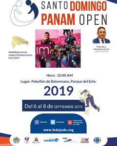 Fedojudo anuncia Panamerican Open clasificatorio Tokio 2020