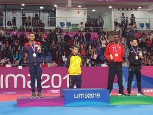 Geraldo Castro gana plata en taekwondo Parapanamericanos