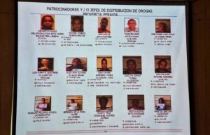 Autoridades han desmantelado 11 bandas narcotráfico en Baní