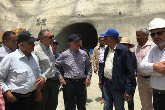 BARAHONA: Presidente inaugura túneles de presa Monte Grande