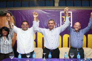 Radhamés Segura promete desarrollo con progreso y transparencia