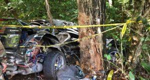 Una persona muerta y otra herida en accidente carretera Río San Juan