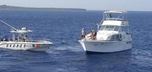 Armada RD rescata a  cuatro venezolanos cerca de la isla Beata