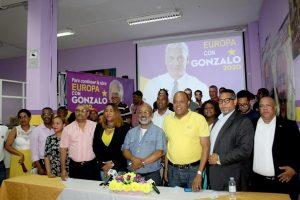 MADRID: Danilistas promueven el voto a favor de Gonzalo Castillo