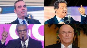 Encuesta coloca a Abinader favorito frente a Leonel y Gonzalo Castillo