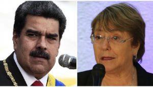 Maduro rechaza informe de Bachelet sobre Venezuela; la tilda de envidiosa