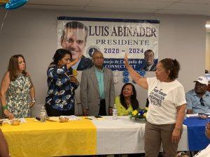 CONNECTICUT: Proyecto Abinader juramenta equipo femenino