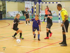 Unos 800 atletas participan en Grand Prix de Futsal Escolar