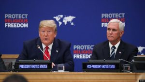 EEUU: Trump insta naciones a proteger comunidades religiosas en el mundo