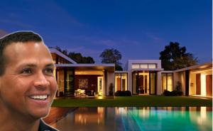 Expelotero Alex Rodriguez vende lujosa mansión en Hollywood Hills