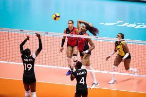 Voleibol de la RD vence a Kenia en Copa del Mundo
