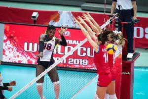 Sexteto de Voleibol RD derrota a Serbia en Copa Mundial