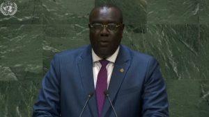 Canciller de Haití expone ante ONU compleja crisis política de su país