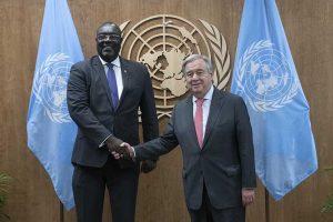 Guterres recibe a canciller haitiano al margen de Asamblea de la ONU