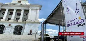 SANTIAGO: Creó conflicto instalación carpa de Gonzalo frente a monumento