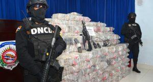 DNCD decomisó 5,36 toneladas de cocaína entre enero y agosto 2019