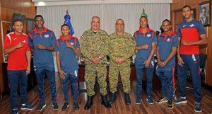 Comandante del Ejército premia medallistas Panamericanos