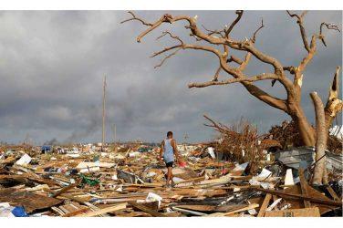 Más de 300 haitianos desaparecidos tras azote de Dorian a Bahamas