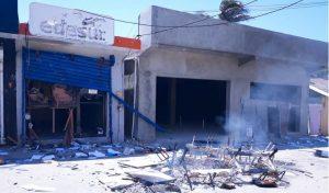 Apresan sospechosos de incendiar oficina de EDESUR en Enriquillo