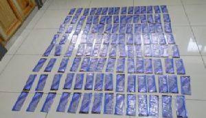 DNCD ocupa 125 láminas cocaína y/o heroína en local empresa de envíos