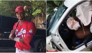 Fallece pelotero cubano Andy Pacheco en accidente de tráfico en RD