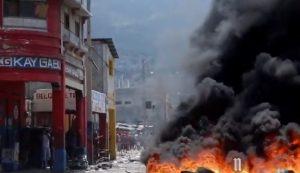 HAITI: Manifestantes toman las calles en una nueva jornada de protestas