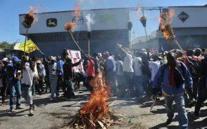 Las protestas antigubernamentales se extienden a varias provincias de Haití