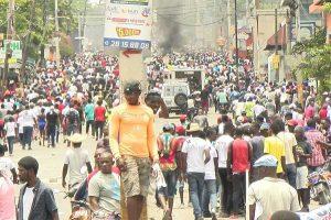 Oposición haitiana convoca a nueva jornada de movilización general