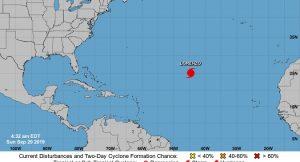 Se fortalece huracán Lorenzo en el Atlántico, con vientos de 185 km/h