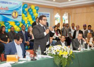 Presidente Sector Externo en Europa  insta al pueblo a votar por Leonel