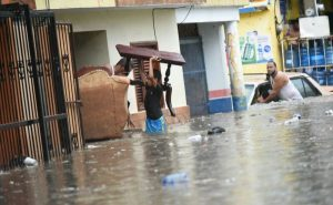 Cerca de 5.000 desplazados en la RD debido a dos días de fuertes lluvias