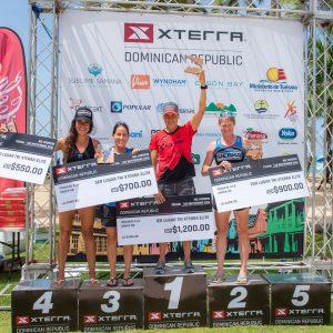 Karsten Madsen y Fabiola Corona ganan triatlónXterra