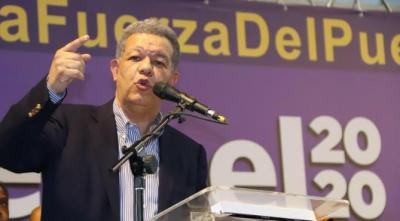Leonel dice desde hoy asume el compromiso de ganar elecciones