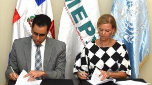 MEPyD y PNUD firman acuerdo en el marco de los ODS y la END