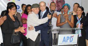 Manuel Jiménez recibe apoyo de Max Puig para alcaldía Santo Domingo Este
