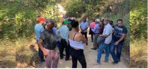 Denuncian tala de árboles en una parte de la cordillera Central