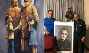 EL SALVADOR: Distinguen artista dominicano en Museo San Romero