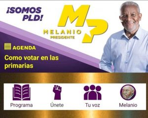 Melanio Paredes lanza aplicación móvil de su proyecto presidencial
