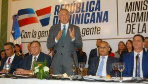 Peralta resalta logros del Gobierno en transparencia, política social y otras
