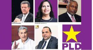 Lucha por candidatura presidencial PLD queda reducida a 5 aspirantes