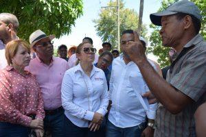 SJM: Plan Social de la Presidencia auxilia familias afectadas por río