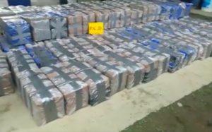 EE.UU: Decomisan 5.4 toneladas de cocaína en el Pacífico