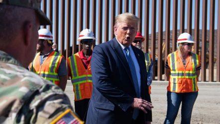 EEUU: Trump insiste en nuevo tramo de muro por «emergencia nacional»