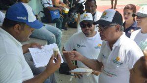 Empleados  Turismo se suman a jornada contra dengue en Puerto Plata