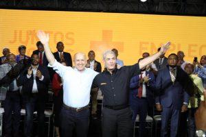 Domínguez Brito manifiesta su apoyo en PLD a Gonzalo Castillo