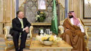 Pompeo: «EE.UU. apoya el derecho de Arabia Saudí a defenderse»
