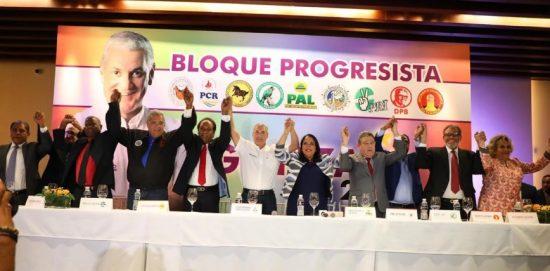 Gonzalo recibe respaldo de mayoría de los partidos del Bloque Progresista