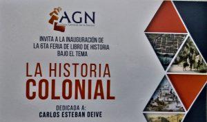 Llegan diez ferias del libro, incluyendo la del AGN de Historia