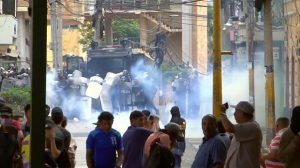 HONDURAS: Protestas y choques en el día de la Independencia